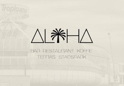 Lighting plan Aloha Bar